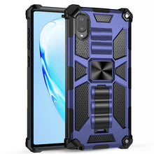Load image into Gallery viewer, 2021 Luxury Armor Shockproof Case With Kickstand For Samsung Galaxy A02