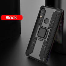Load image into Gallery viewer, Warrior Style Magnetic Ring Kickstand Phone Cover For Redmi Note7