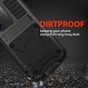 【Samsung S20 Series】Luxury Doom Armor Waterproof Metal Aluminum Kickstand Phone Case