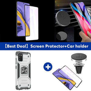 Vehicle-mounted Shockproof Armor Phone Case  For SAMSUNG Galaxy A02S