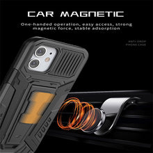 Load image into Gallery viewer, Chariot Magnetic Bracket Phone Case For iPhone 12 Series