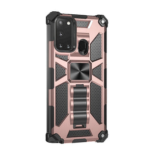 2021 Luxury Armor Shockproof With Kickstand For SAMSUNG A21S