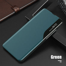 Load image into Gallery viewer, Luxury Smart Window Magnetic Flip Leather Case For Samsung A Series