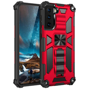 2021 ALL New Luxury Armor Shockproof With Kickstand For SAMSUNG S21 Plus