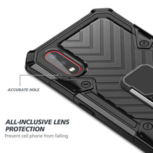 Load image into Gallery viewer, SAMSUNG Galaxy A01-Lightning Armor Ring Holder Phone Case