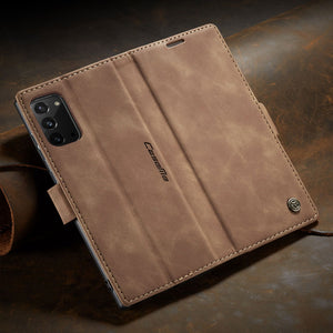 【2021 NEW】CaseMe Retro Wallet Case For Samsung Note 20