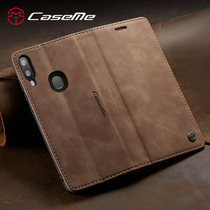 【2021 NEW】CaseMe Retro Wallet Case For Samsung A20/A30