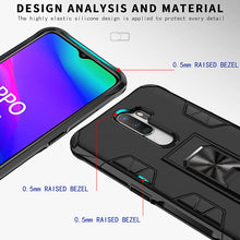 Load image into Gallery viewer, 2021 Luxury Magnet Kickstand Car Holder Ring Phone Case For OPPO A9(2020)