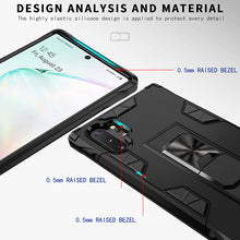 Load image into Gallery viewer, 2020 Luxury Magnet Kickstand Car Holder Ring Phone Case For SAMSUNG NOTE10 PLUS