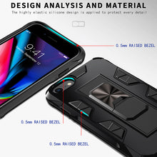 Load image into Gallery viewer, 2020 Luxury Magnet Kickstand Car Holder Ring Phone Case For iPhone 8