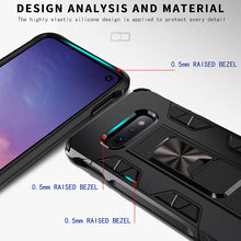 Load image into Gallery viewer, 2020 Luxury Magnet Kickstand Car Holder Ring Phone Case For SAMSUNG S10E