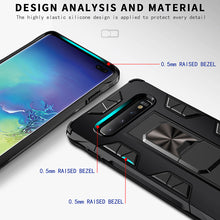 Load image into Gallery viewer, 2020 Luxury Magnet Kickstand Car Holder Ring Phone Case For SAMSUNG S10 PLUS