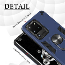 Load image into Gallery viewer, All New 4-in-1 Special Armor Ring Kickstand Case For Samsung S20 ULTRA