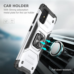 2021 Vehicle-mounted fall-proof armor phone case  For Samsung Galaxy A51