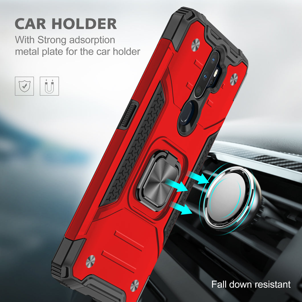 2021 Vehicle-mounted Shockproof Armor Phone Case  For OPPO A5(2020)