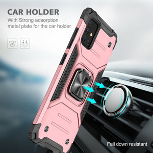 2021 Vehicle-mounted fall-proof armor phone case  For Samsung Galaxy A71