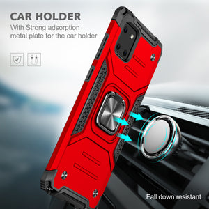 2021 Vehicle-mounted Shockproof Armor Phone Case  For SAMSUNG NOTE10 Lite
