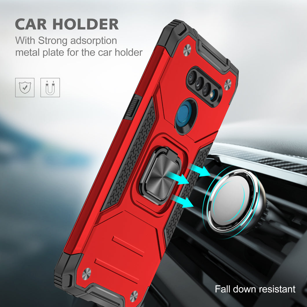 2021 Vehicle-mounted Shockproof Armor Phone Case  For LG K50S