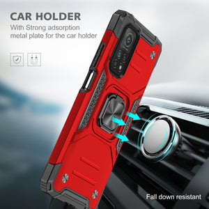 2021 Vehicle-mounted Shockproof Armor Phone Case  For Xiaomi Mi 10T Pro