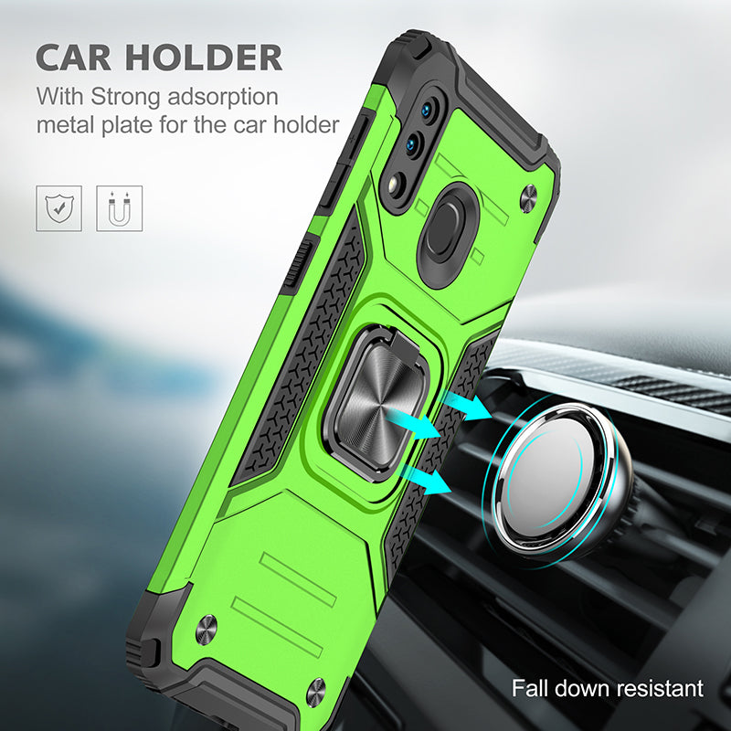 Vehicle-mounted Shockproof Armor Phone Case  For SAMSUNG A30
