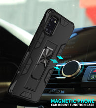 Load image into Gallery viewer, 2020 Luxury Magnet Kickstand Car Holder Ring Phone Case For SAMSUNG A31