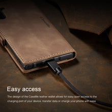 Load image into Gallery viewer, 【2021 NEW】CaseMe Retro Wallet Case For Samsung Note 10 Plus