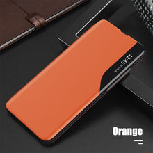 Load image into Gallery viewer, Luxury Smart Window Magnetic Flip Leather Case For Samsung S21 Series