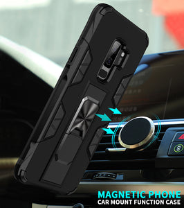 2020 Luxury Magnet Kickstand Car Holder Ring Phone Case For SAMSUNG S9 PLUS