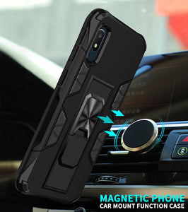 2020 Luxury Magnet Kickstand Car Holder Ring Phone Case For SAMSUNG A10