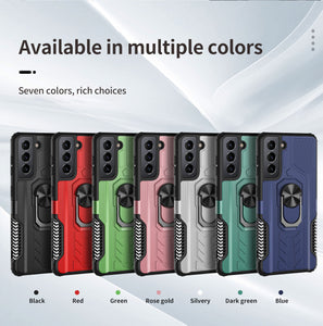 【2021 NEW】Alliance Shield Shockproof Ring Phone Case  For SAMSUNG Galaxy S21 5G