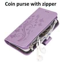 Load image into Gallery viewer, Luxury Zipper Leather Wallet Flip Multi Card Slots Cover Case For iPhone 7Plus/8Plus