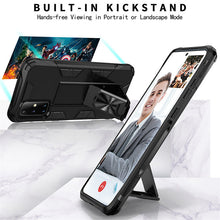 Load image into Gallery viewer, 2020 Luxury Magnet Kickstand Car Holder Ring Phone Case For SAMSUNG A71