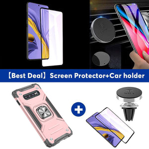 2021 Vehicle-mounted Shockproof Armor Phone Case  For SAMSUNG S10/S10PLUS