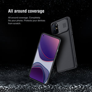 【Black Mirror】Luxury Slide Lens Protection Case for Oneplus 8T