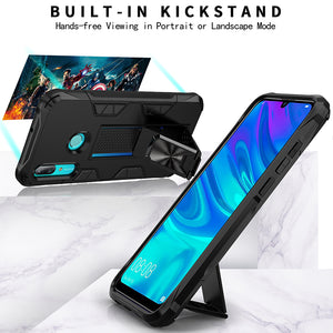 2020 Luxury Magnet Kickstand Car Holder Phone Case For HUAWEI P Smart (2019)/(2020)
