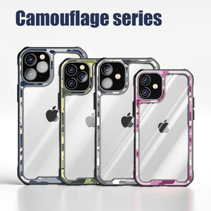 【2021 New】Camouflage Military Series Airbag Anti-fall Case For iPhone 12 Series