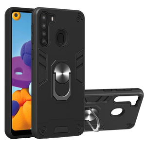 50% OFF & Fast Shipping-All New 4-in-1 Special Armor Case For Samsung A21