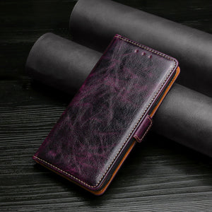 Flip Magnetic Soft Leather Wallet Cover Case For Xiaomi Mi 10T Pro