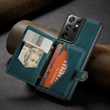 Load image into Gallery viewer, New Magnetic Wallet Phone Case For Samsung S21ULTRA(5G)