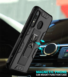 2020 Luxury Magnet Kickstand Car Holder Ring Phone Case For SAMSUNG A40