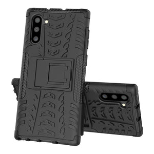 Rubber Hard Armor Cover Case For Samsung Galaxy Note10/Note10 Plus/Note10 Lite