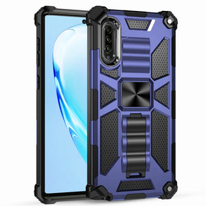Luxury Armor Shockproof With Kickstand For SAMSUNG A50