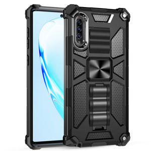 Luxury Armor Shockproof With Kickstand For SAMSUNG A30S