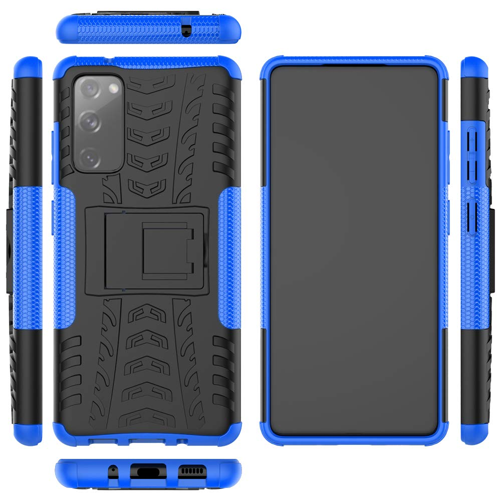Rubber Hard Armor Cover Case For Samsung S20 FE