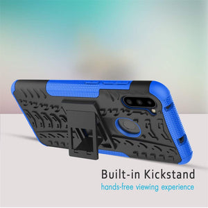 Rubber Hard Armor Cover Case For Samsung Galaxy A11