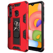 Load image into Gallery viewer, 2020 Luxury Magnet Kickstand Car Holder Ring Phone Case For SAMSUNG A21