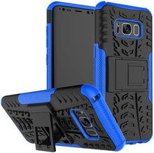 Load image into Gallery viewer, Rubber Hard Armor Cover Case For Samsung Galaxy S8/S8 Plus