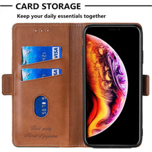 Laden Sie das Bild in den Galerie-Viewer, New Leder Brieftasche Flip Magnet Cover Case für Samsung Galaxy A12