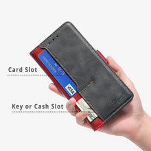 Load image into Gallery viewer, New Leather Wallet Flip Magnet Cover Case For Samsung