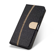 Load image into Gallery viewer, 2021 New Bling Glitter Diamond Wallet Flip Case For Samsung S20FE